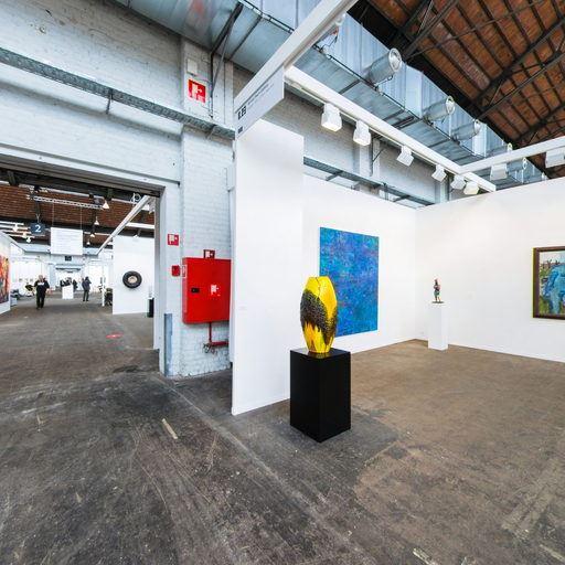 Almine Rech Gallery - Art Brussels 2017