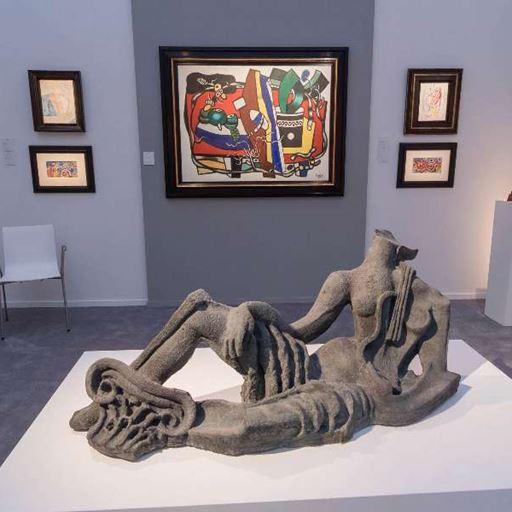 Galerie Fleury - BRAFA 2018