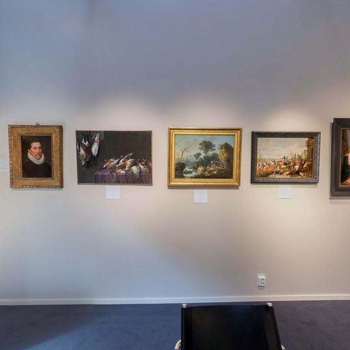 Galerie Lowet de Wotrenge - Paris Tableau 2017